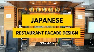 70+ Awesome Japanese Restaurant Facade Design Ideas