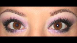 black pink pearl smokey eye makeup tutorial