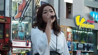 一輝×紗綾のストリートライブ @上野駅 シンガー 紗綾 (Saaya) ツイッタ...