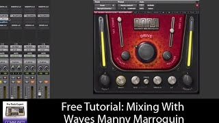 Mixing With Waves Manny Marroquin - Extended Video