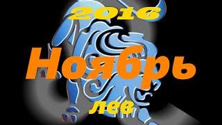 Гороскоп на НОЯБРЬ 2016 года для Льва