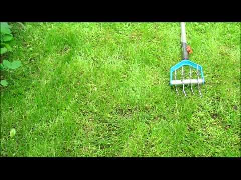 Berühmt Rasen Aerifizieren - Mit Zackenrolle - YouTube #VD_11