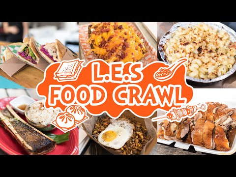 Lower East Side Food Crawl