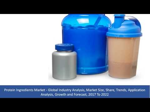 Protein Ingredients Market Size, Share, Trends, Growth and Forecast, 2017 To 2022
