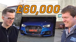 We Gave Away 500bhp Abt Audi Rs3 W/ Shmee150 !
