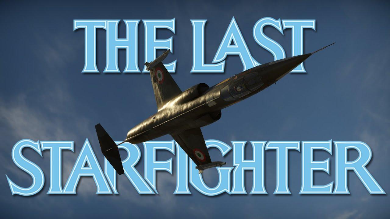 The Last Starfighter | War Thunder F-104S Cinematic