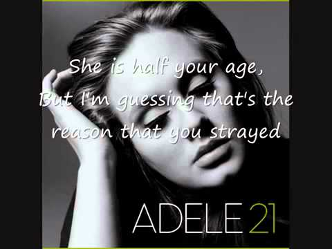Adele  Rumour Has It Lyrics FULL SONG