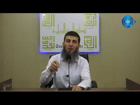Ağızların tadını kaçıran ölümü çokça hatırlayın, Ebu Zeyd Hoca