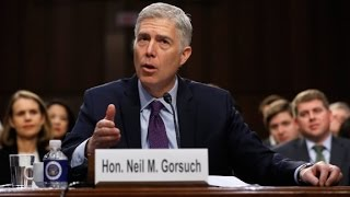 Gorsuch asked about religious test