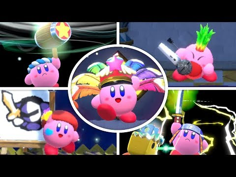 Kirby Star Allies - All Copy Abilities
