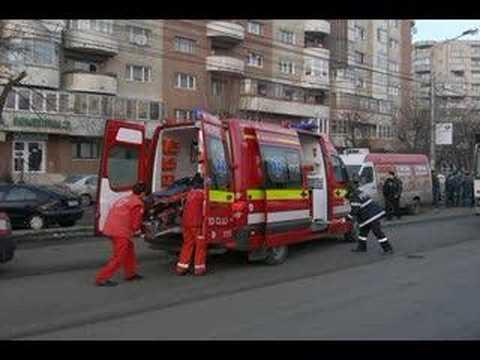 Ambulace SMURD Cluj Romania Emergency