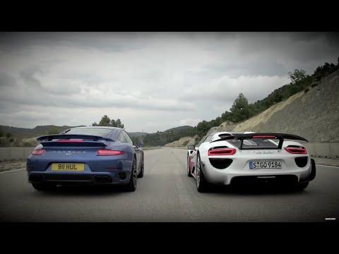 Porsche 911 vs 918 - Speed Week 2014: TopGear Magazine