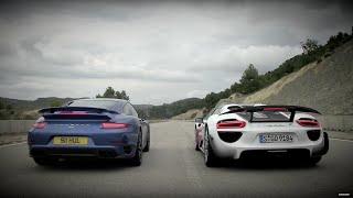 Porsche 911 vs 918 | Speed Week 2014: TopGear Magazine