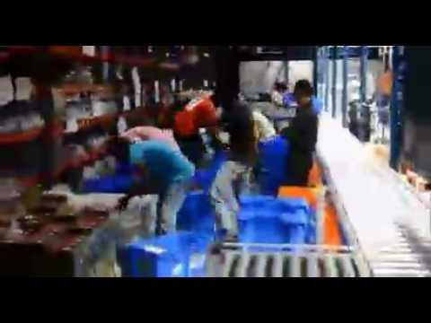 Flipkart fc in Hyderabad waking process