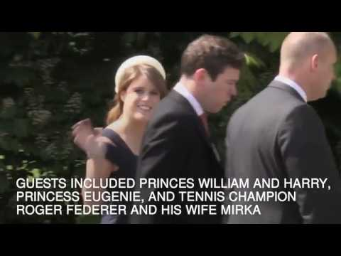 In 60 seconds  Pippa Middleton's wedding   Daily Mail Online