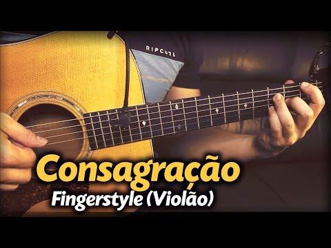 Aline Barros - Consagração Violão SOLO Fingerstyle by Rafael Alves