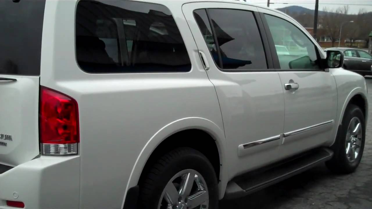 Great 2010 Nissan Armada Platinum 4X4 Walkaround