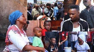 Tazama Ney wa Mitego alivyoingia Manzese na kugawa hela kwa Mama ntilie