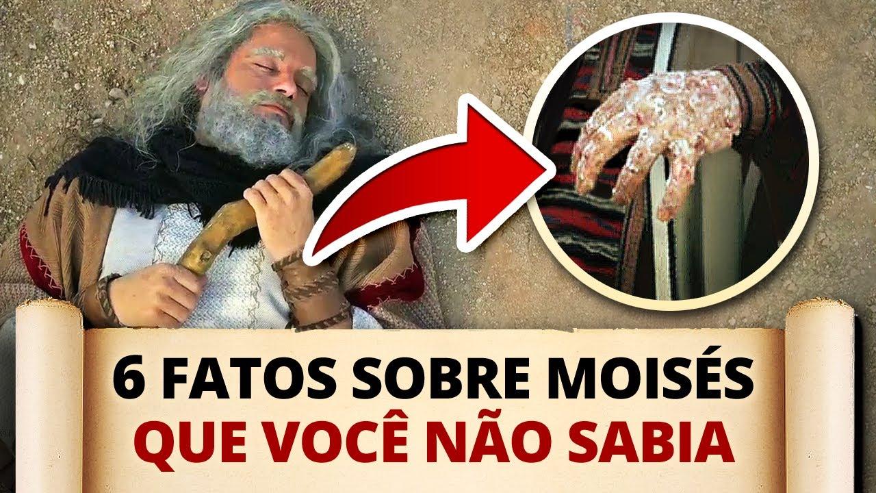 Download 6 FATOS INTERESSANTES SOBRE MOISÉS QUE VOCÊ NÃO SABIA!