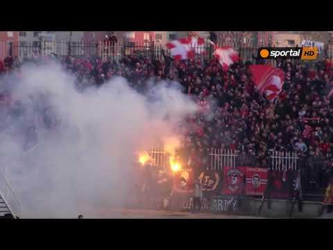 Радост след гола на Десподов в Пловдив
