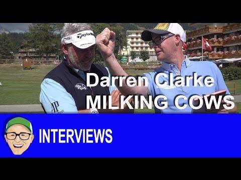 Darren Clarke Milking Cows
