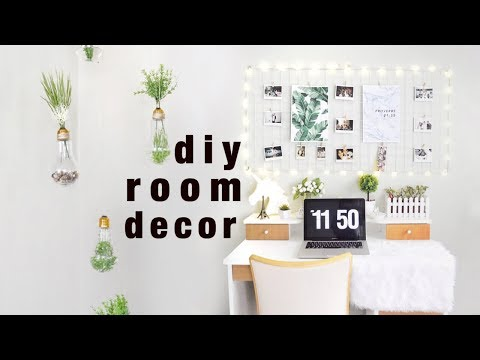 DIY Room Decor Ideas (Tumblr/Pinterest Inspired)