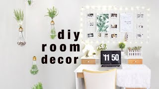 DIY Room Decor Ideas (Tumblr/Pinterest Inspired)