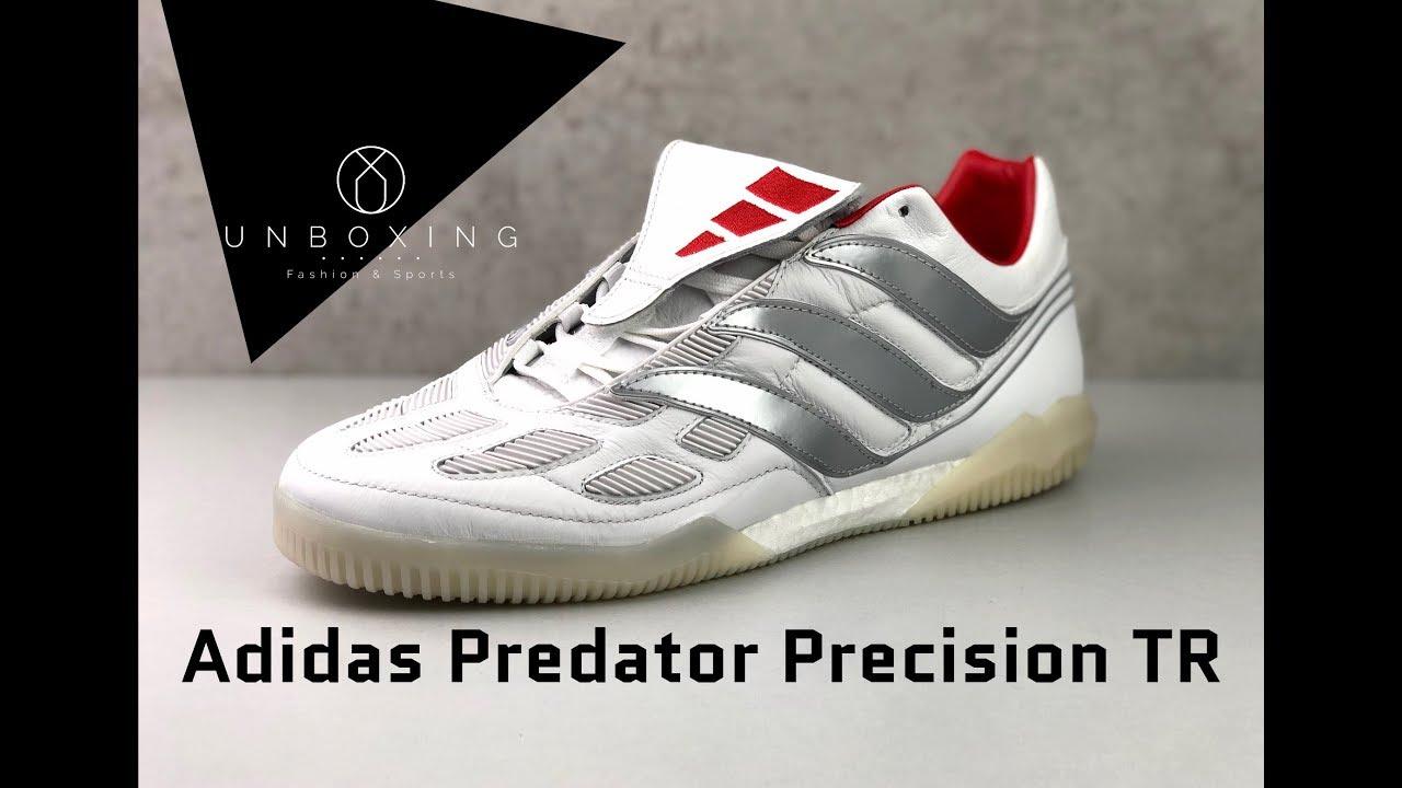 8cccd56d870e1 Adidas Predator Precision TR David Beckham  White Silver Red ...