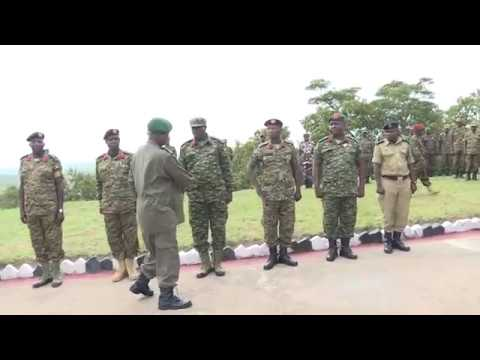 Museveni passes out of 321 UPDF officers in Mubende