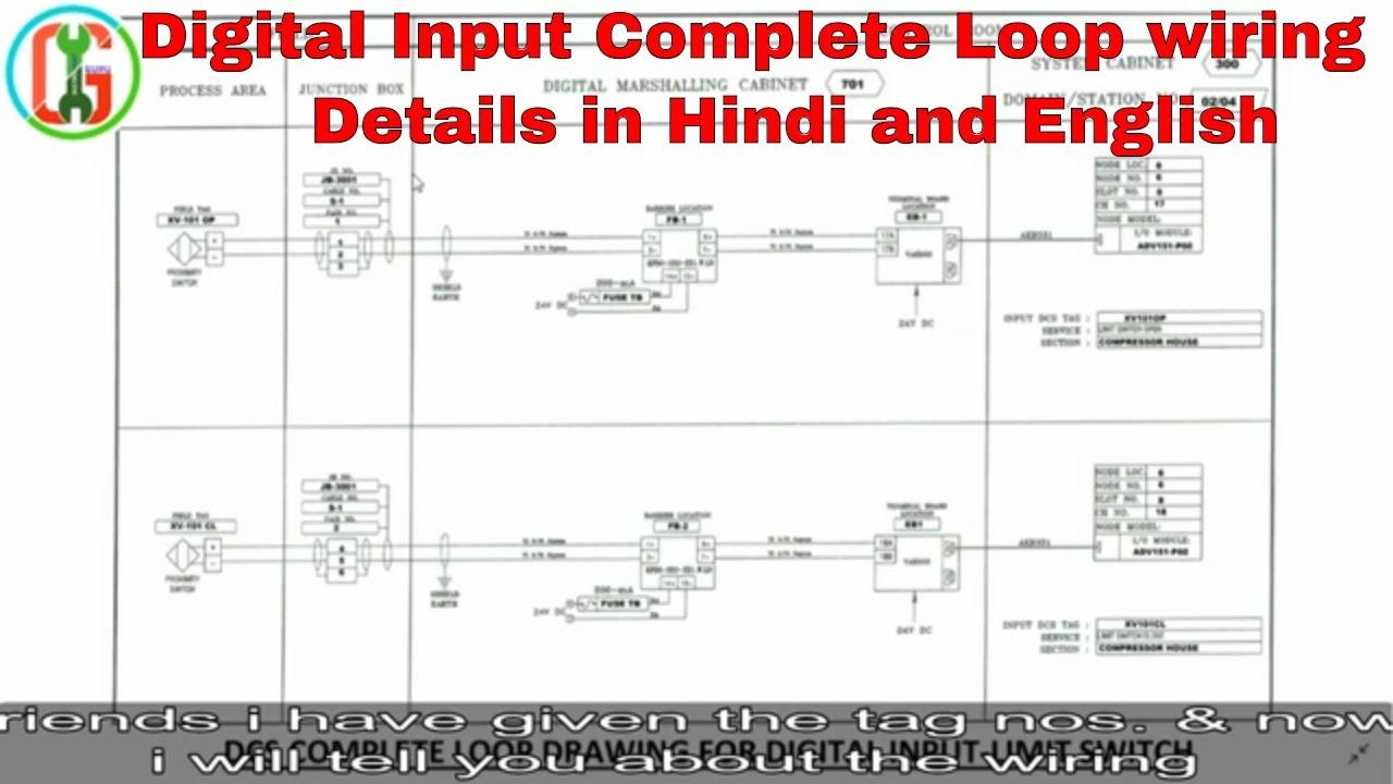 medium resolution of digital input limit switch complete loop in hindi english