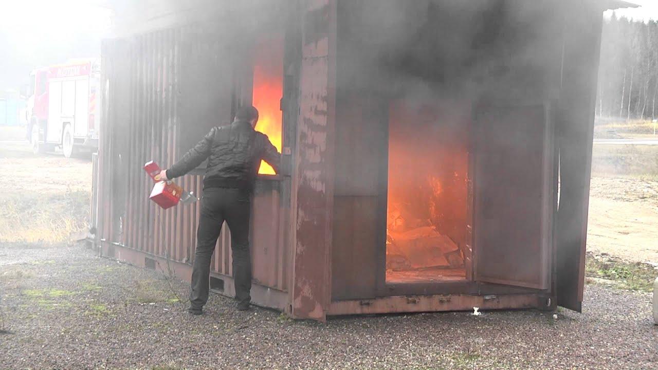Огнетушитель 21 века Шар-1  Elide Fire www.smarttime.ee
