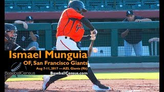 Ismael Munguia, OF, San Francisco Giants — August 7-11, 2017