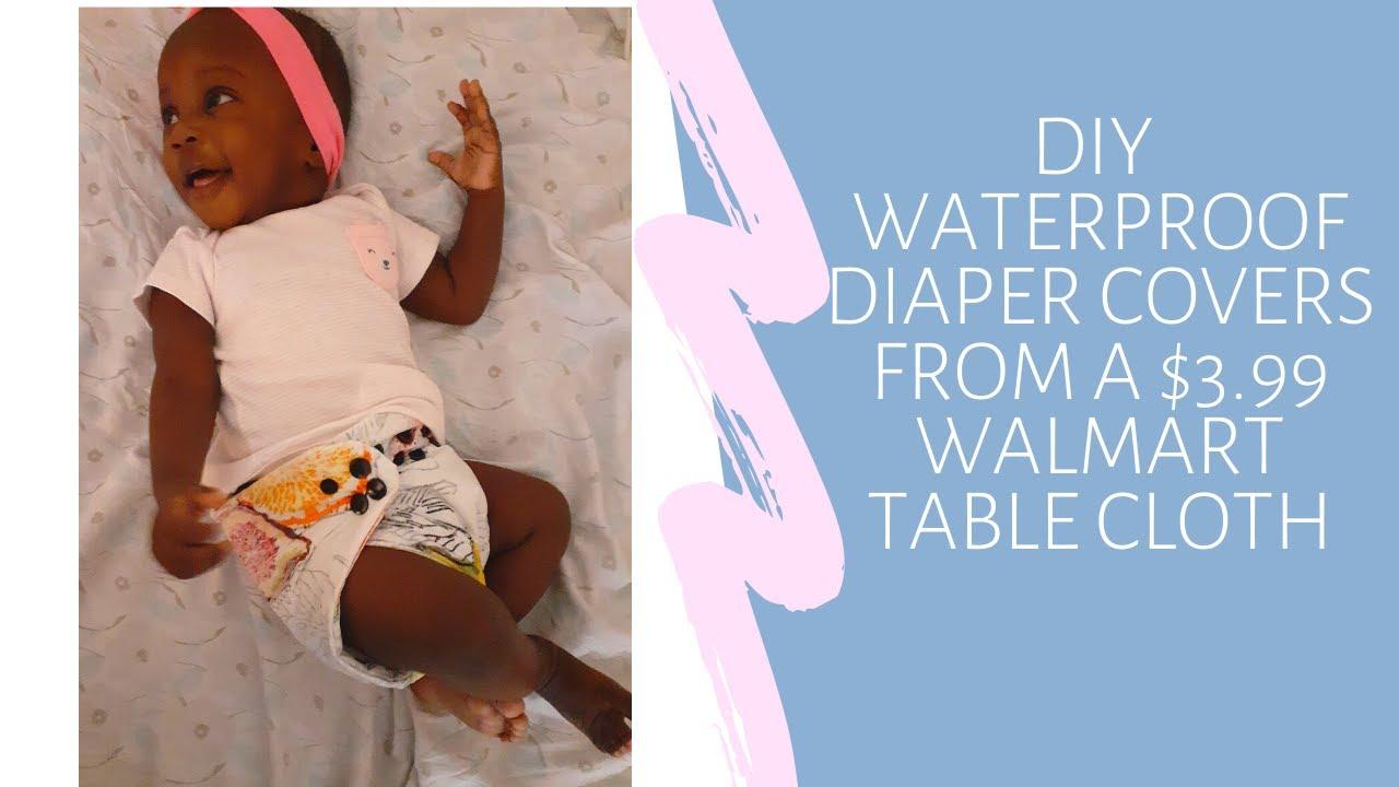 DIY Waterproof Diaper Covers