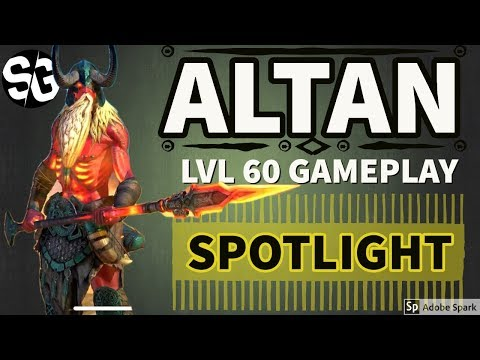 [RAID SHADOW LEGENDS] ALTAN LVL 60 - SPOTLIGHT / GAMEPLAY