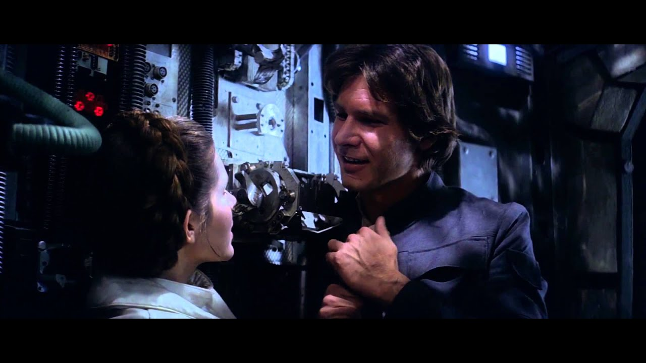 Image result for Han leia kiss