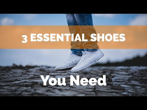 3 ESSENTIAL SHOES YOU NEED | The Dressing Room Ep 26
