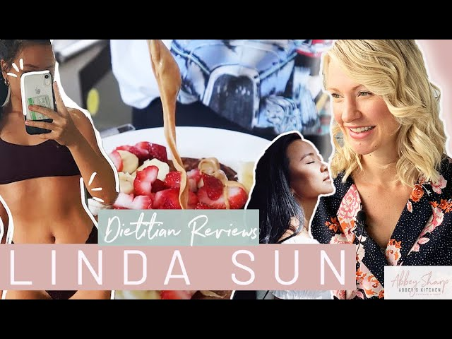 Dietitian Reviews LINDA SUN What I Eat in A Day