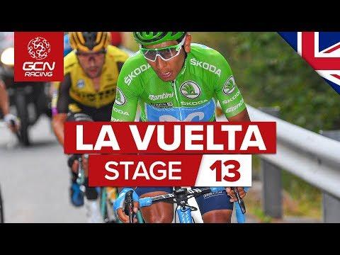 Vuelta a España 2019 Stage 13 Highlights: Bilbao – Los Machucos, A 27% Climb! | GCN Racing