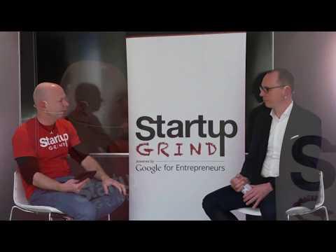 Philipp Bolliger (Koubachi) at Startup Grind Zurich w/ David Butler