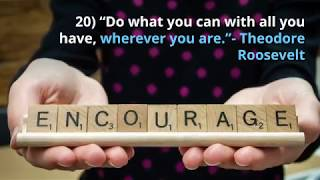 26 Motivational and Inspirational Quotes