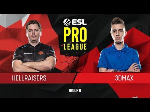 VOD: HR vs 3DMAX - ESL Pro League S9 - G2