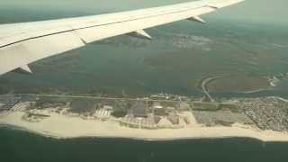Landing at JFK-New York. Dreamliner B787 LOT Polish