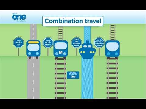 Network One - Bus, Metro, Train & Ferry Travel
