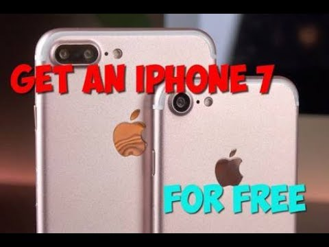 How To Get Free iPhone 7 with proof || New Method