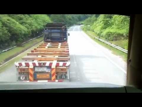 MAN 24.400 (Mahligai Ekspress) Overtake 6 Travel Video