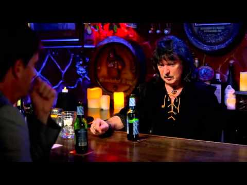 Ritchie Blackmore discussing one of his many tussles with singer Ian Gillan