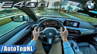 BMW 5 Series Touring G31 540d M Sport POV Test Drive by AutoTopNL