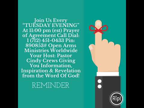 Join Us Every Tuesday Evening At 1100 Pm Est Prayer Of