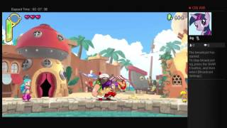 Shantae Half-Genie Hero- Hero Mode 100% Speedrun (Game Crash-Incomplete)