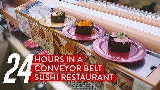 24 Hours In A Conveyor Belt Sushi Restaurant: Sushiro